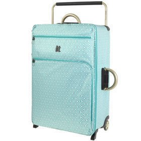 IT Luggage World's Lightest Aqua White duża walizka