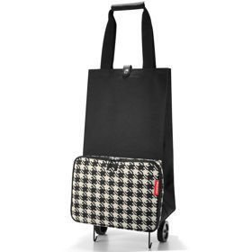 Reisenthel Foldable trolley Fifties Black Wózek na zakupy