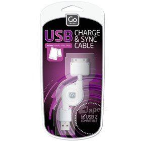 Go Travel DG/042 kabel USB iPhone 4S zwijany
