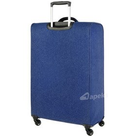 IT Luggage The-Lite Denim Zebra duża walizka