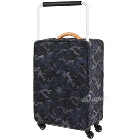 IT Luggage World's Lightest Quilted Camo średnia walizka