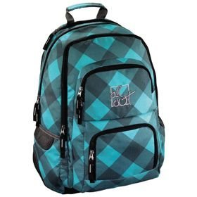 "All Out Louth plecak szkolny 45 cm / laptop 15,6"" / Blue Dream Check"