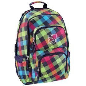 "All Out Louth plecak szkolny 45 cm / laptop 15,6"" / Rainbow Check"