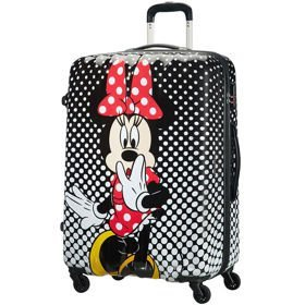 American Tourister Disney Legends duża walizka 75 cm / Minnie Mouse Polka Dot