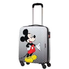 American Tourister Disney Legends mała walizka kabinowa 20/55 cm / Mickey Mouse Polka Dot