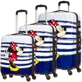 American Tourister Disney Legends zestaw walizek / komplet / set / Minnie Kiss