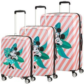 American Tourister Funlight Disney zestaw walizek / komplet / set / Minnie Miami Holiday