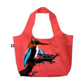 BG Berlin Eco Bags Eco torba na zakupy 3w1 / Tropical Sound Red
