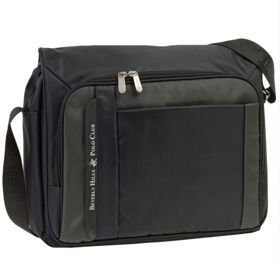 "Beverly Hills Polo Club BH-222 Missouri torba na laptopa 15"" / czarna"