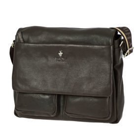 Beverly Hills Polo Club Virginia skórzana torba na ramię - laptop 15''
