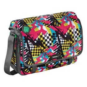 "Coocazoo HangDang II torba na ramię - laptop 15,6"" / Checkered Bolts"