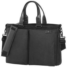 "Victorinox Lexicon™ Satchel torba na laptopa do 15,6"" / czarna"