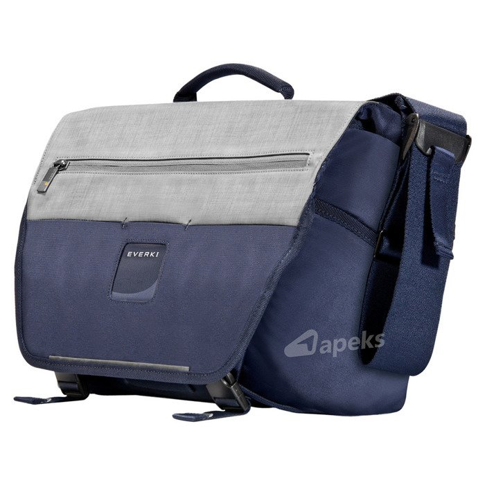"Everki ContemPRO Bike Messenger torba na ramię / laptop 14,1"" / granatowa"