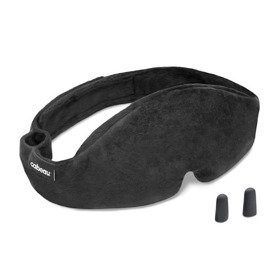 Cabeau Sleep Mask Midnight Magic opaska na oczy do spania w podróży / czarna